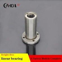 Free shipping 1piece Round Flange Linear Bearings LMF8LGA LMF10GA LMF12LGA LMF16LGA LM20LGA  LMF25LGA LMF30LGA LMF35LGA CNC все цены