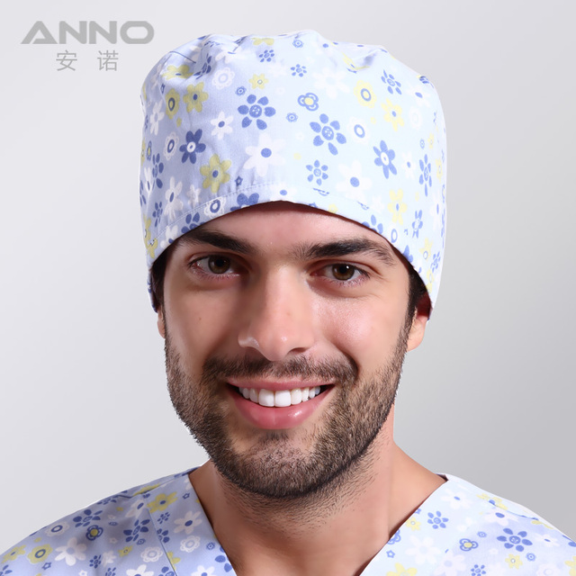 lovely medical hat men of  adjustable size short hair working cap free shipping