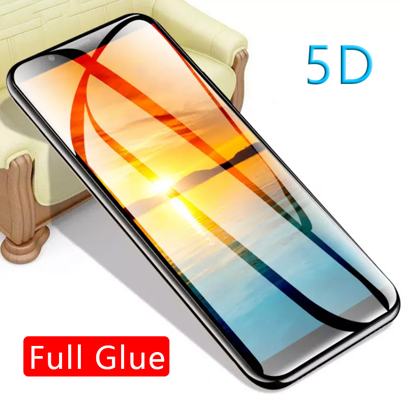 <font><b>5d</b></font> full glue tempered <font><b>glass</b></font> for <font><b>huawei</b></font> y5 y6 y7 prime 2018 y9 2019 protective glas screen protector phone safety tremp on <font><b>honor</b></font> image