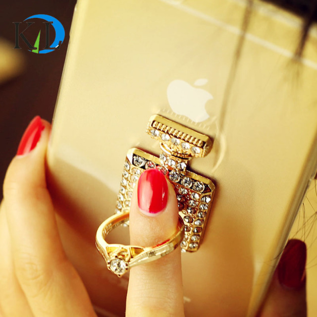 Free Gift Fashion 360 Degree Metal Finger Ring Mobile Phone Smartphone Stand Holder For iPhone Samsung Smart Phone for phone