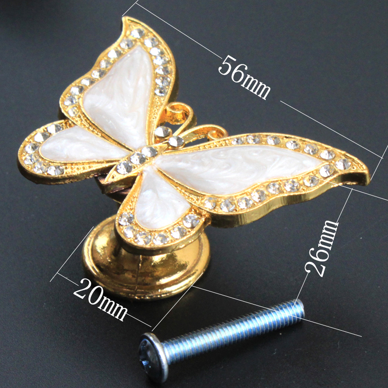 Creative Fashion Luxury Tansparent crystal drawer shoe cabinet knob pull gold silver bronze black dresser cupboard handle  knob|Cabinet Pulls| |  - title=