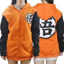 New Women Men Anime Cosplay Costume Hoodie Jacket Dragon ball Z Son DBZ Goku Kame Uniform