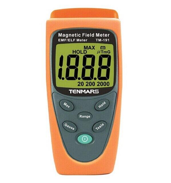 TM-191 High Quality Magnetic Field Gauss Meter 30Hz-300Hz