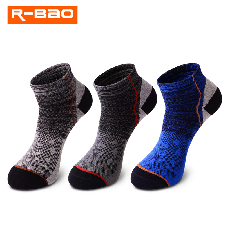 3 Pairs/Lot New Summer Breathable Men Sport Socks Male Outdoor Socks Running Mountaineering Hiking Socks Mans Soft Cotton Socks