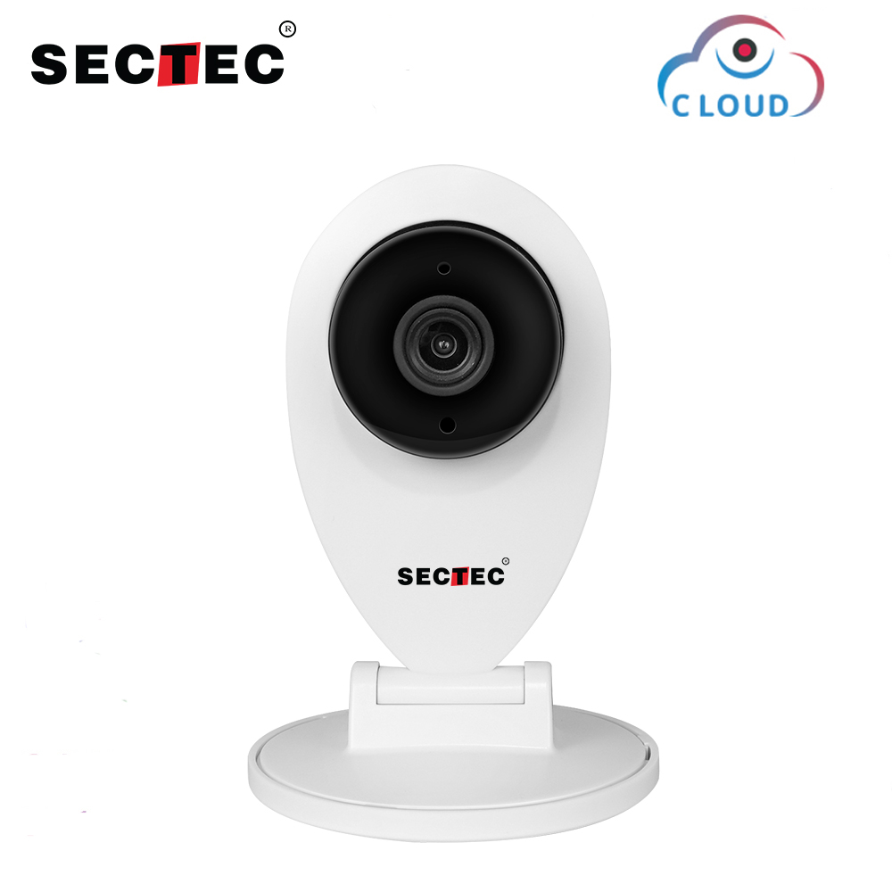 SECTEC 720P Cloud IP Camera Wifi Home Security Mini Camera Wireless Surveillance Night Vision Network CCTV Camera Baby MonitorSECTEC 720P Cloud IP Camera Wifi Home Security Mini Camera Wireless Surveillance Night Vision Network CCTV Camera Baby Monitor
