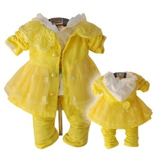 casual three-piece baby Spring