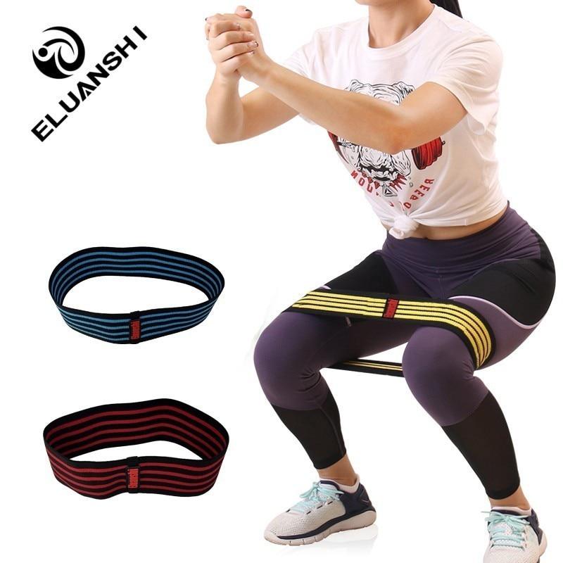 Rubber Elastic Resistance Bands Elastica Hip Band Rower Gum For Fitness Gym Equipment Mini Sport For Athletic Workout ELUANSHI
