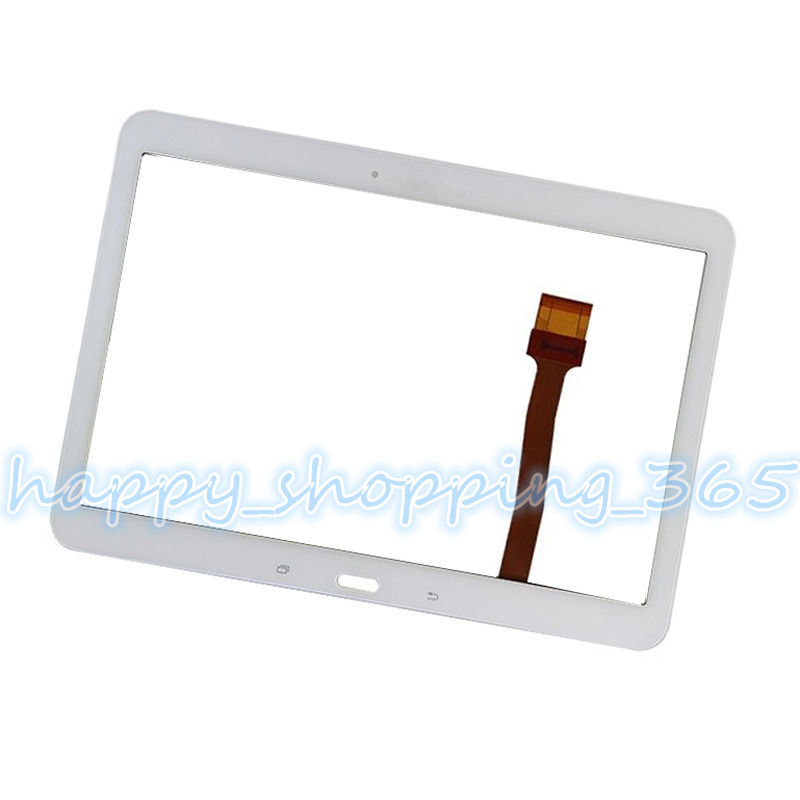 Free tools Replacement For Samsung Galaxy Tab 4 SM-T530 T531 T535 white digitizer touch screen Glass  Free shipping free shipping xc3020 100pc84i new original and goods in stock