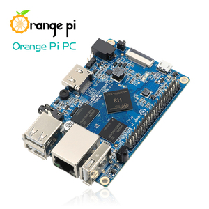 Image 2 - Orange Pi PC SET3 :  Orange Pi PC + ABS Transparent  Case + 4.0MM   1.7MM USB to DC power cable