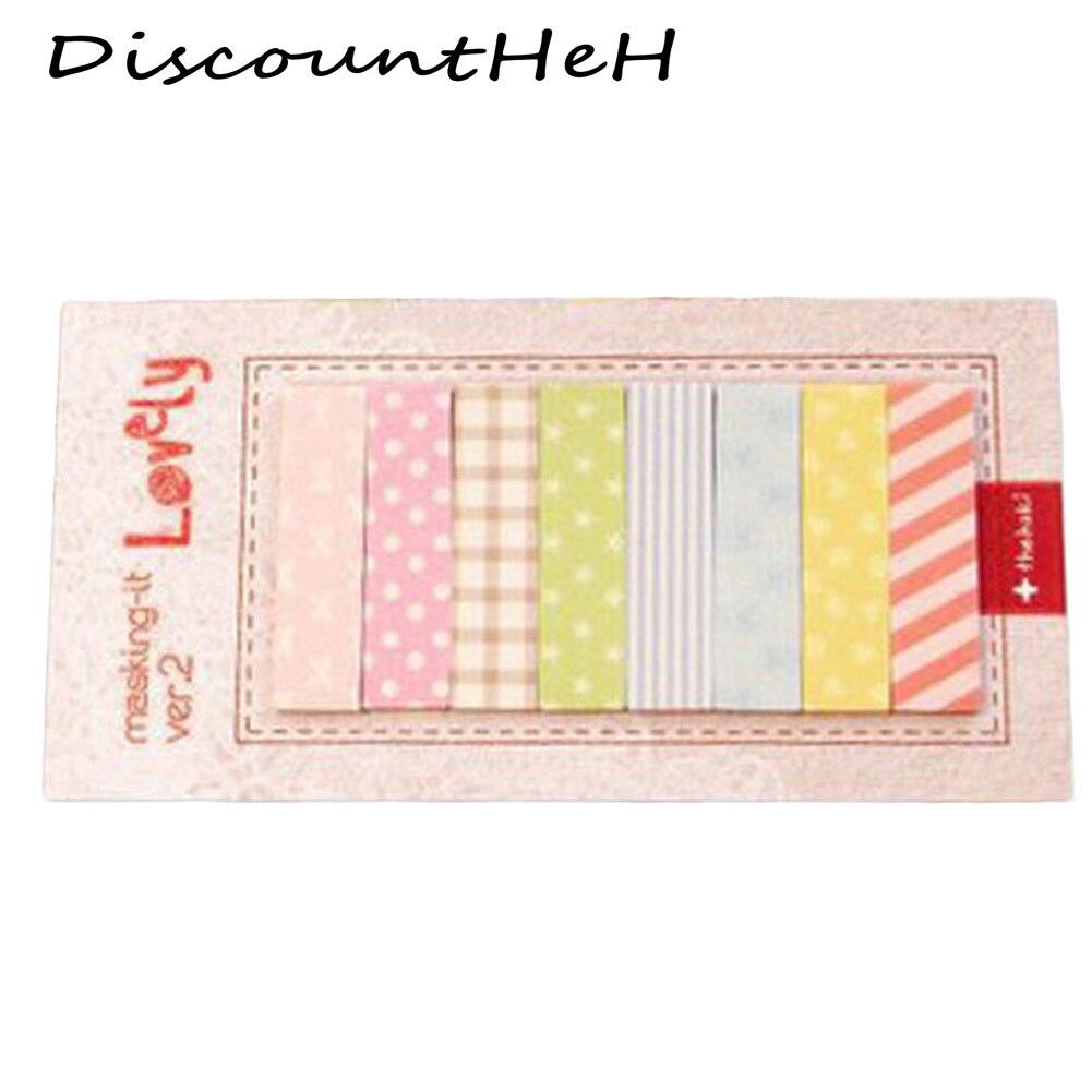 1 Los Büro Briefpapier Haftnotizen Korea Kawaii 160 Seiten Aufkleber Lesezeichen Punkt Markierung Memo Sticker Papier