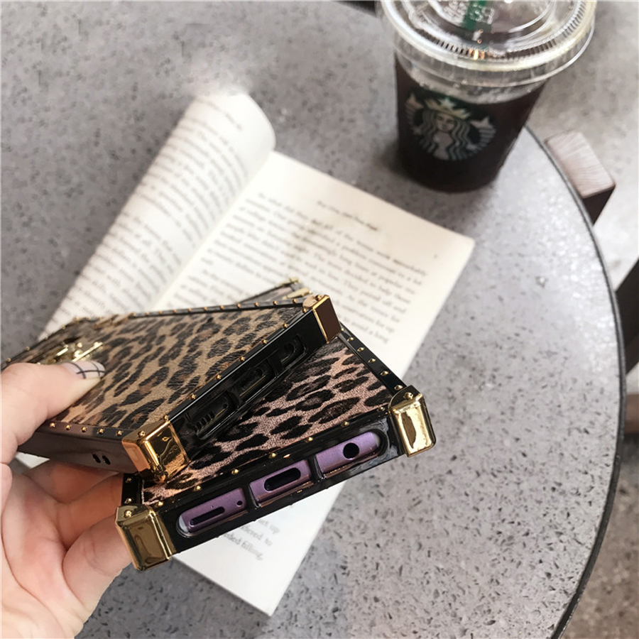 luxury 3d leopard silicone case For samsung galaxy A50 70 30 20 10 M10 20 30 J4 J6 plus note 9 8 s10 s9 s8 plus s10 lite s10e ca in Fitted Cases from Cellphones Telecommunications