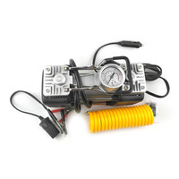 12V 150PSI 2 Cylinder Car Air Compressor Tire Inflator Pump Universal for Car Trucks Bicycle Portable Emergency Heavy Duty