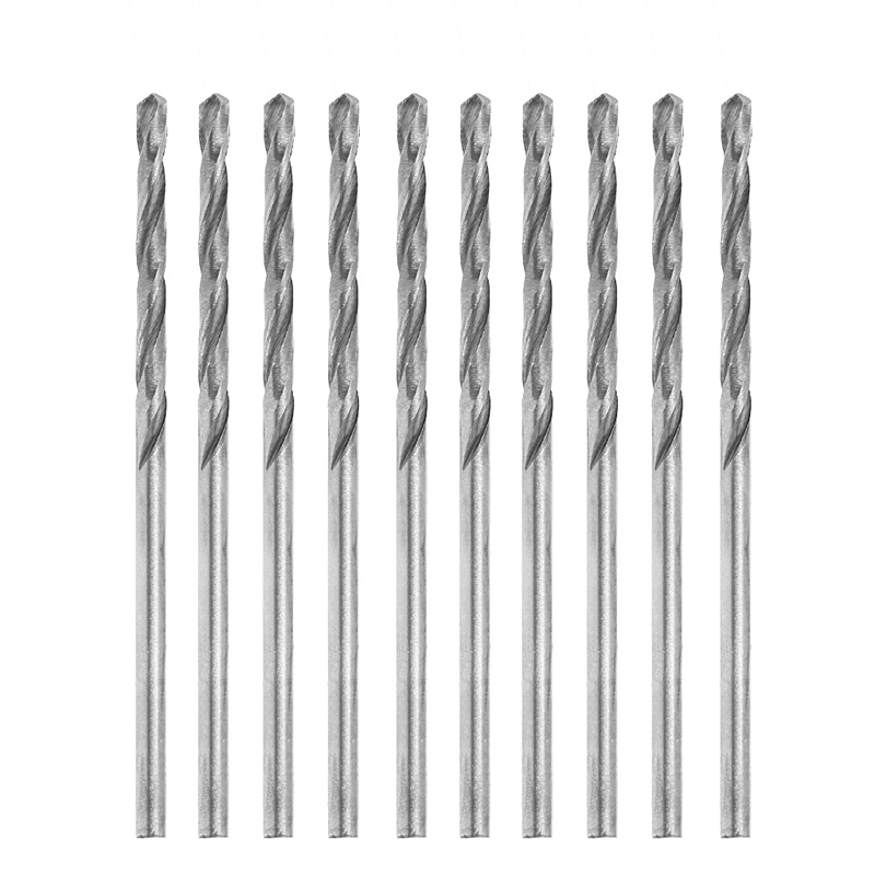 10Pcs/Set Multifunction Tiny Micro HSS 1.9mm Straight Shank Twist Drilling Bit 10pcs 0 3 3mm micro hss twist drilling bits straight shank electrical drill tool