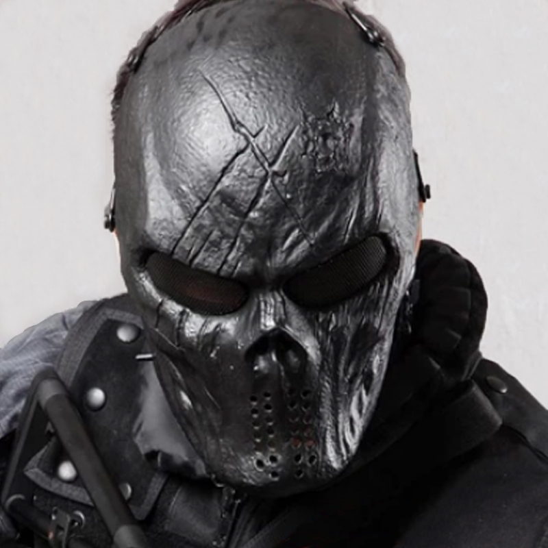 Military Hunting Tactical Full Face Mask Airsoft Paintball Mask Hero And Star Movie Halloween Party Cosplay Hunting Accessories