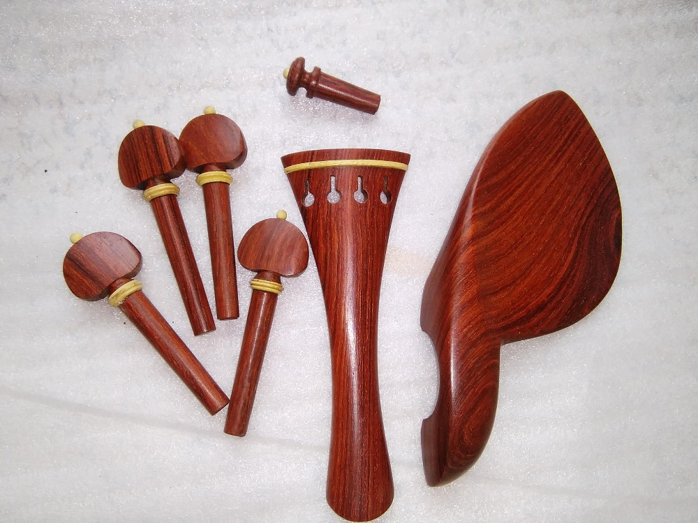 1 set Rose wood Violin Fitting 4/4 with shoulder rest fine tuner tail guts string and chin rest clamp all 4/4 раскладушка therm a rest therm a rest luxurylite mesh xl