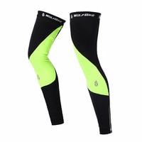 Unisex Outdoor Sport Bike Bicycle Leg Warmer Thermal Winter Guard Knee Running Sleeves Cycling Leg Sunscreen