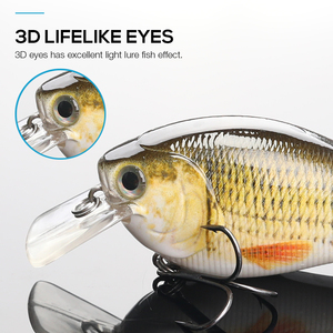 Image 5 - 7cm 15g Top Quality Swimbait Crankbait Fishing Lure Hard Bait with 3D Eyes Japan Floating Popper Fishing Wobblers Croatian Egg