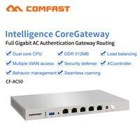 COMFAST CF-CF-AC50 Gigabit Wifi AC Enterprise Router Gateway Senza Soluzione di Continuità di Roaming/ Multi WAN/Bilanciamento del Carico QoS PPPoE 4 Wan porta LAN Rout