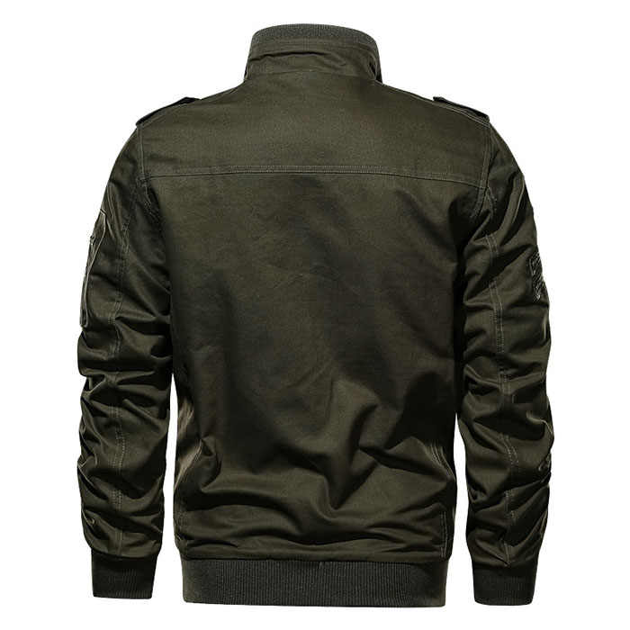 2019 Erkek Kargo Ceket Bahar Sonbahar Çok cep Askeri Ordu Bombacı Ceket Pamuk Sahası Pilot Ceket Dış Giyim chaqueta hombre