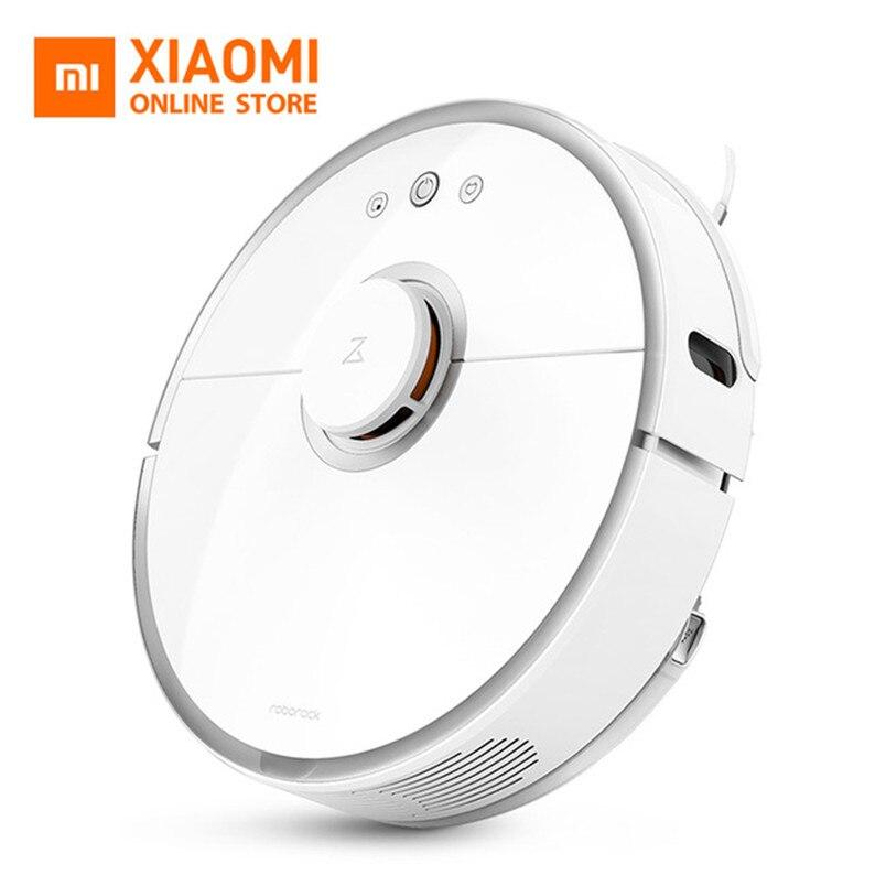 Xiaomi Roborock S50 De Nettoyage Robot 2nd Aspirateur Éponger Balayage de Guidage Laser Puissant Aspiration LDS Wi-Fi Rapide Lien Z30