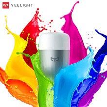 Оригинальная светодиодная смарт лампа Yee, светильник в, E27, 9 вт, 220 люмен, лампа Xiomi Smart Home APP с дистанционным управлением, не умная белая лампа