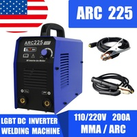 MMA ARC inverter IGBT 220V DC portable welder welding machine DIY