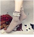 2016 Novos Chegada da alta qualidade de Cor Pure Oco Out Lace Moda Sexy Das Mulheres Meias Meias Finas
