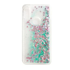 Image 4 - Huawei Y6 2019 case Huawei Y6 2019 Liquid case For Coque Huawei Y6 Prime 2019 cover Glitter Dynamic Soft TPU phone cases shell