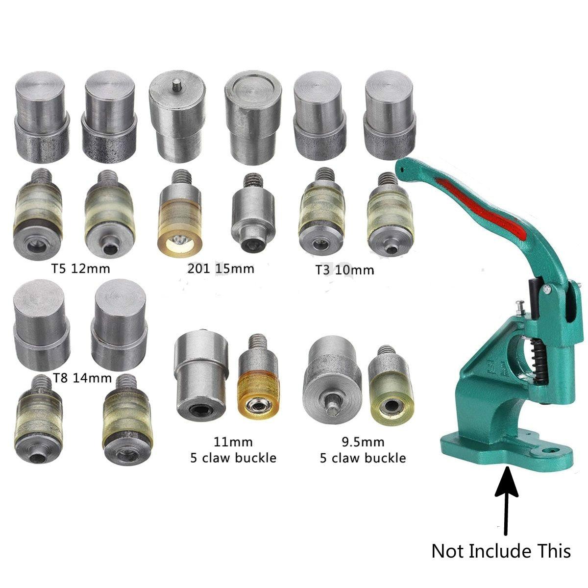 Мм 1 компл.. 9,5-15 мм ручной коготь застежка защелки штампы ручной давление нажатие зажим машина инструмент