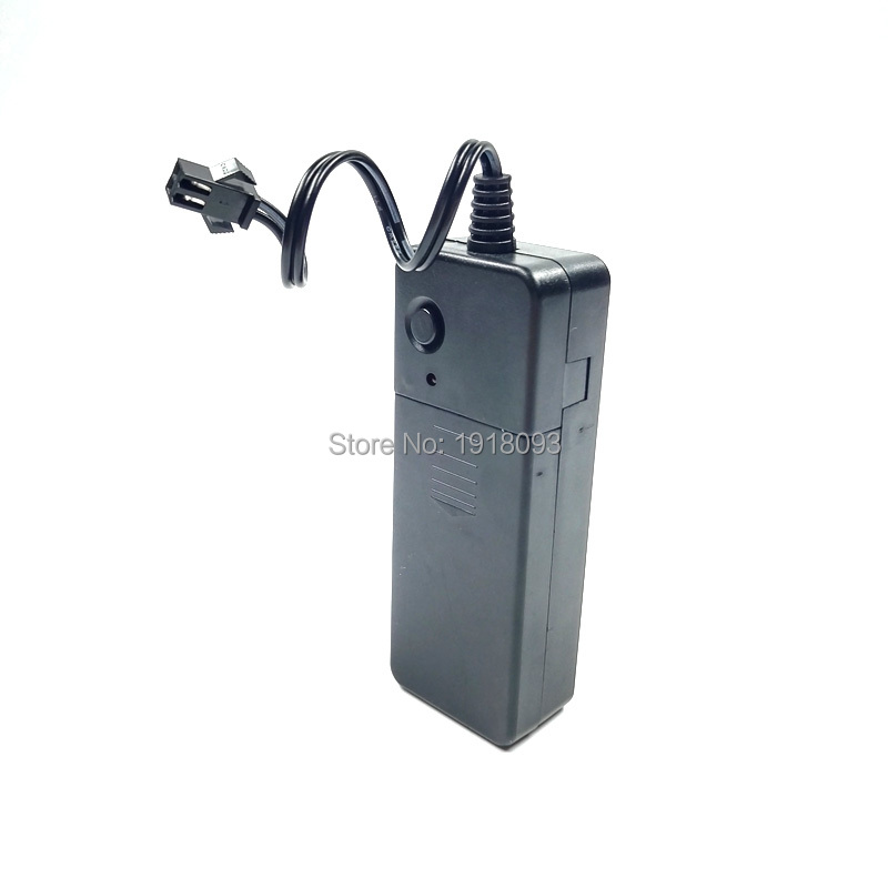 Powered By 2-AA Batteries DC-3V 1-10 Steady On/Flashing Inverter Drive 10Meters EL Wire Holiday Lighting Party Supplies