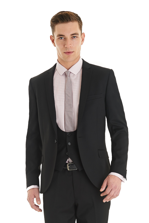 Silk Black Suit Promotion-Shop for Promotional Silk Black Suit on