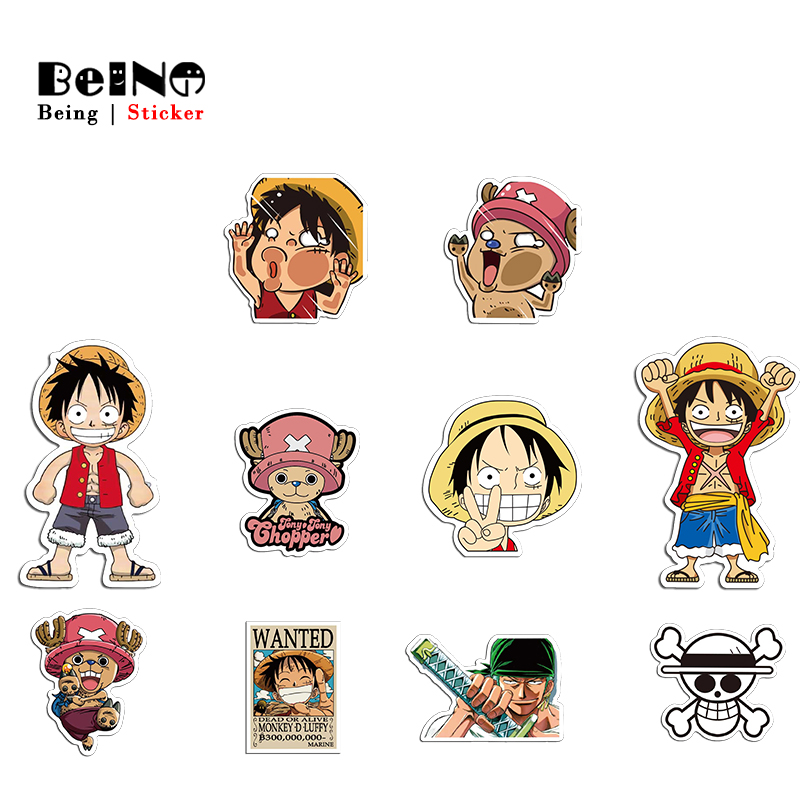 One Piece Anime Sticker Luffy Tony Chopper Cute Waterproof Suitcase Laptop Guitar Luggage Skateboard Bicycle Toy Lovely StickersOne Piece Anime Sticker Luffy Tony Chopper Cute Waterproof Suitcase Laptop Guitar Luggage Skateboard Bicycle Toy Lovely Stickers