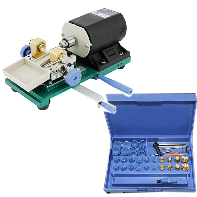 320W Pearl Drilling Holing Machine Driller Jewelry Punch Engraving Engraver Machine Tools Full Set