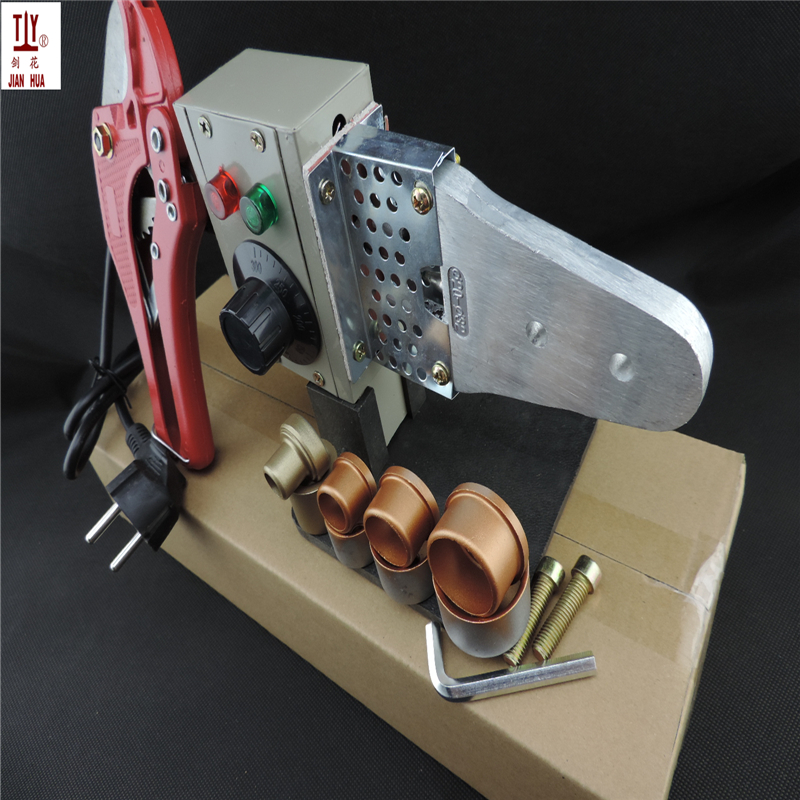 Free Shipping Plumber Tools With 42mm Pipe Cutter 16-32mm heating element, plastic pipe welding, ppr Tube welding machine free shipping 16 32mm 4pcs die heads ppr tube pipe welding machine plastic pipe welderac 220 110v ppr pe pp pipe welding