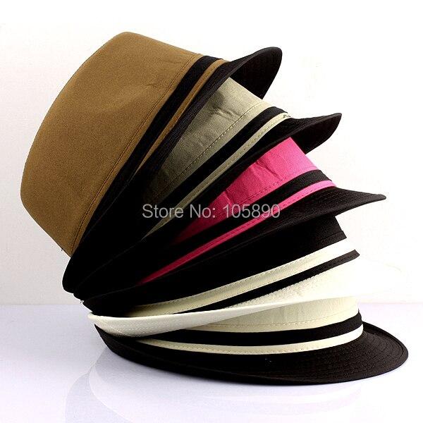ab35733f5084c New Fashion Mens Plain Casual Dress Fedora Cuban Style Upturn Short Brim  Cap Hat