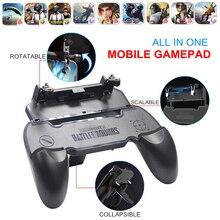 Бесплатно огонь PUBG мобильного Геймпад контроллер Джойстик PUGB мобильной игры площадку с L1 R1 триггеры L1R1 Кнопка для iPhone телефона Android