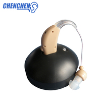 Rechargeable Hearing Aid Adjustable Digital Aids Personal Amplifier Behind Ear Mini Care Tools