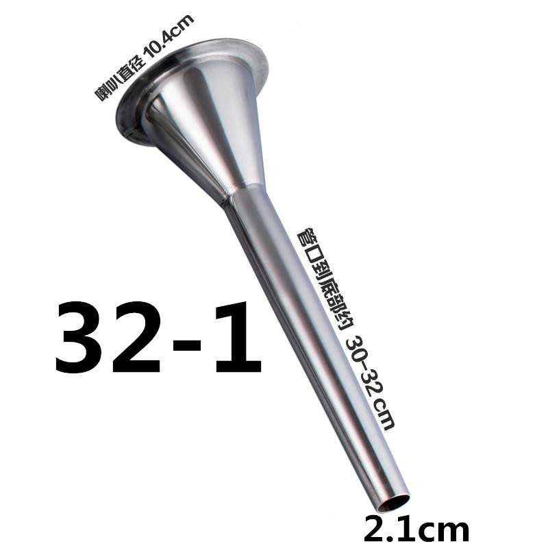 1pcs thick meat grinder parts stuffer head for Sausage casings funnel handmade stainless steel tube