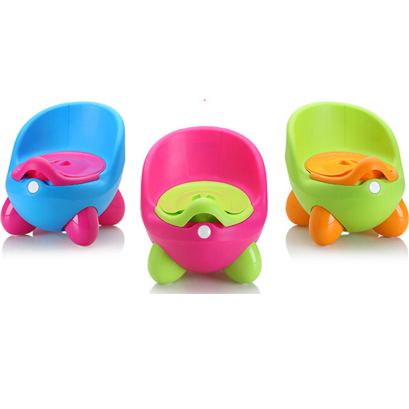Baby Potty Seat Lovely Egg Children Toilet Chair Training Seat Kids QQ Potty Closestool With Toilet Lid And Free Brush
