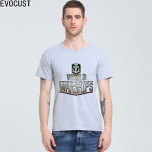 WORLD OF WARSHIPS T-shirt Top Lycra Cotton Men T shirt New Design High Quality Digital Inkjet Printing