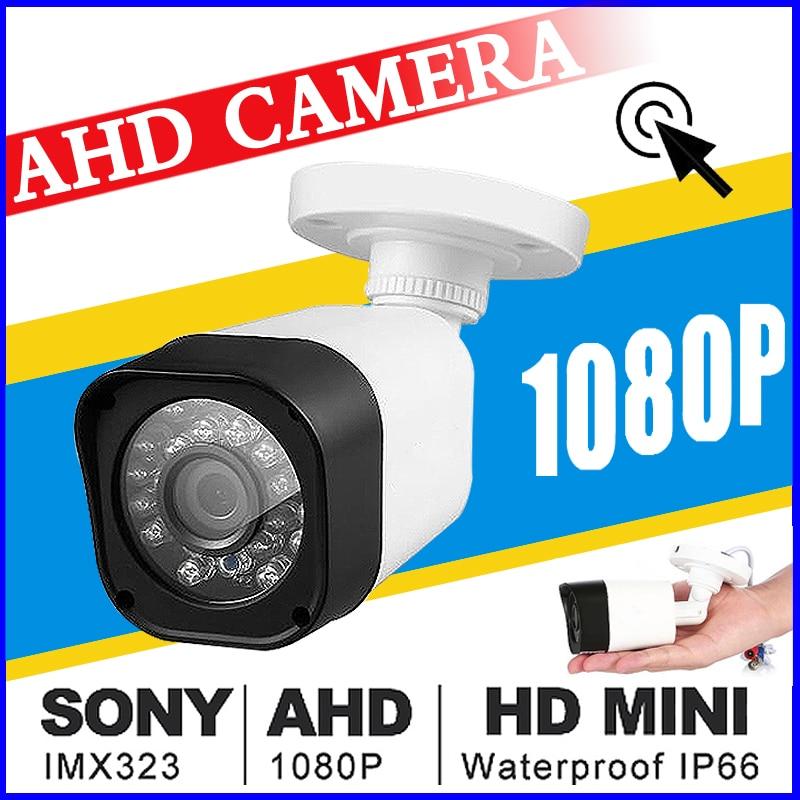 July Big Sale ALL Full CCTV Mini AHD Camera 720P/960P/1080P SONY IMX323 HD Digital 2.0MP IP66 24LED Infrared HAVE Bullet Vidicon