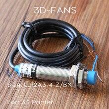 1 pcs NPN DC6-36V 4mm Normalde Açık yakınlık anahtarı LJ12A3-4-Z/BX endüktif yakınlık sensörü Algılama Anahtarı için 3D Yazıcı