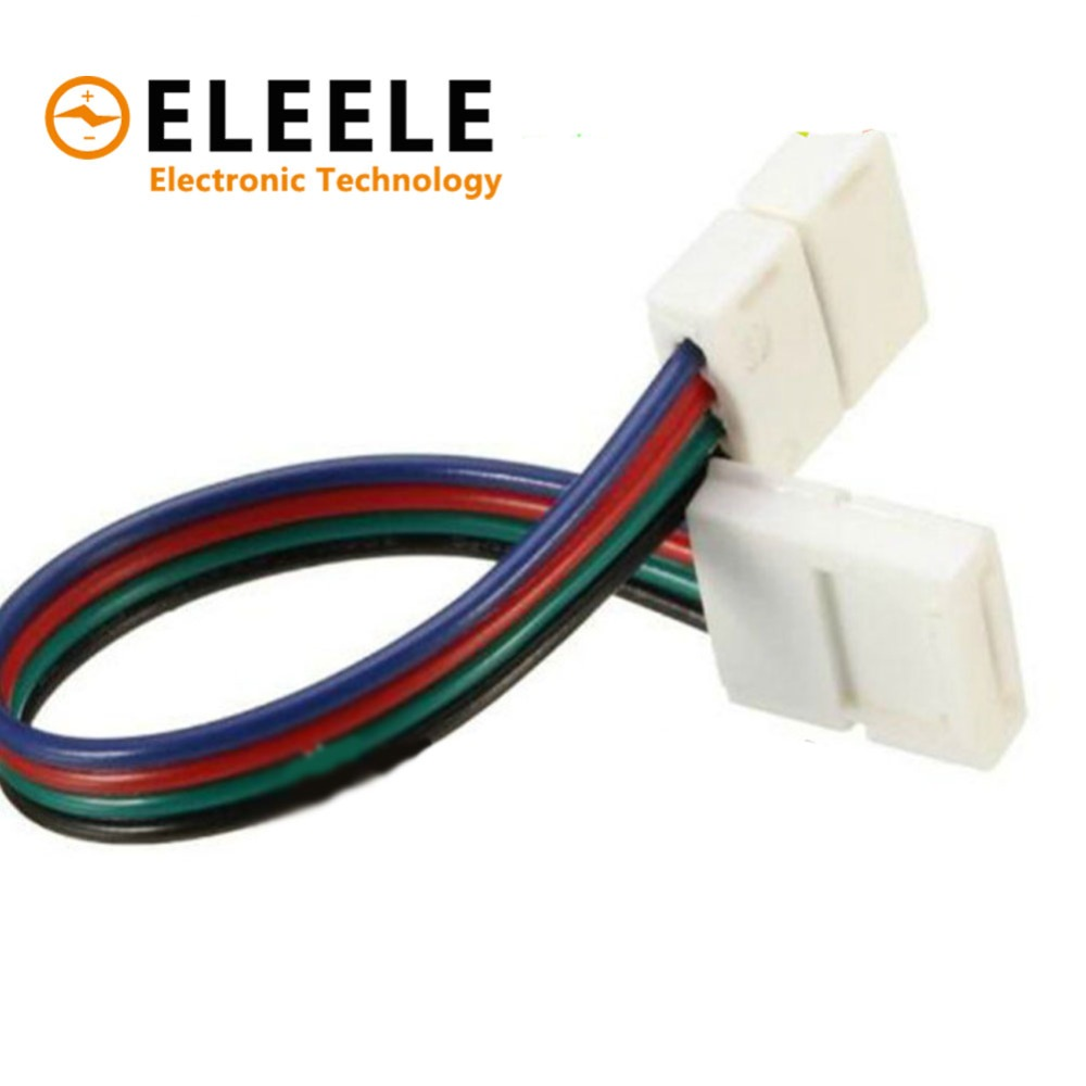 4 Pin Rgb Connector Adapter 10pcs Needle Double Male 4pin For 5050 Segotep Ramadan 3 10mm Connecting Corner Pcb