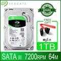 Seagate 1 ТБ жесткий диск HDD рабочего внутренний HD 1000 ГБ 1 T жесткий диск 7200 об/мин 64 M 3,5
