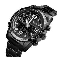 SKMEI Luxury Brand Men Military Sport Watches Men Digital Quartz Clock Full Steel Waterproof WristWatch relogio masculino 1453