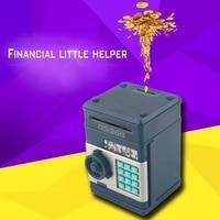 2017 7 farben Kinder Elektronische Geld Safe Passwort Sparkasse ATM für Münzen und Rechnungen Code Schlüssel Fall system Geld Sparen box