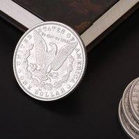 משלוח חינם ביצועים מטבעות מורגן מטבע ישן קסמים צעצוע כיף סגסוגת ערך רב