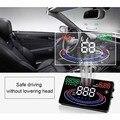 Más nuevo 5.5 pulgadas E300 Car HUD Head Up Display Speed RPM Temperatura del Agua Batería Interfaz OBDII 2D Efecto Visual E300 pantalla