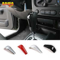 BAWA Interior Mouldings for Suzuki jimny 2007-2017 ABS Gear Shift Knob Handle Cover Accessories for jimny Car Stickers