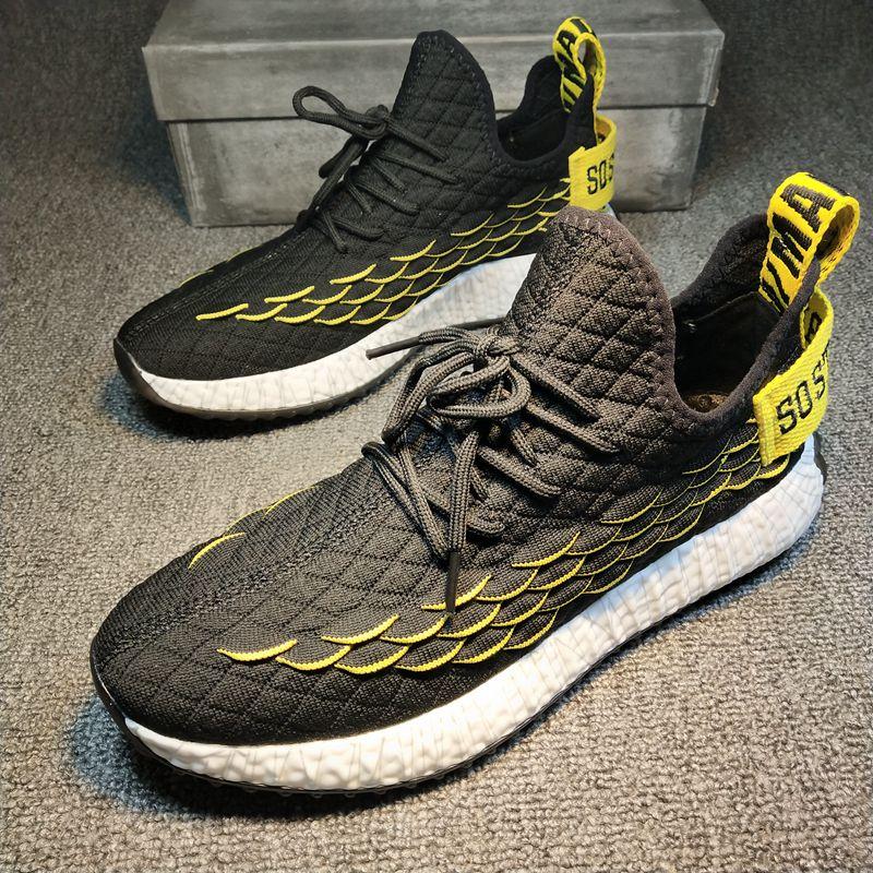 De Streetwear Casual Formadores Tenis Homens Zapatillas Segurança Meias Uomo Scarpe Masculino Tricô Sapatos Hombre Hop Sneakers AWqtg